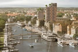 NCC bygger ny infrastruktur i Norrtälje Hamn
