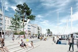 Sydväst vann Norrtälje Hamns arkitekttävling