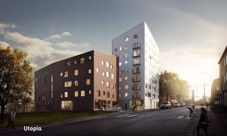 Tidskapsel blir del av nya bostäder på KTH Campus