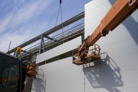 Lindab levererar energieffektiv byggnad