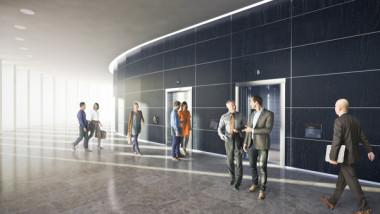 KONE levererar hissar till kontor i Arenastaden