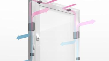 Rehau AG & Co utvecklar fönster med inbyggd värmeväxlare