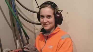 Trögt för kvinnor i byggbranschen