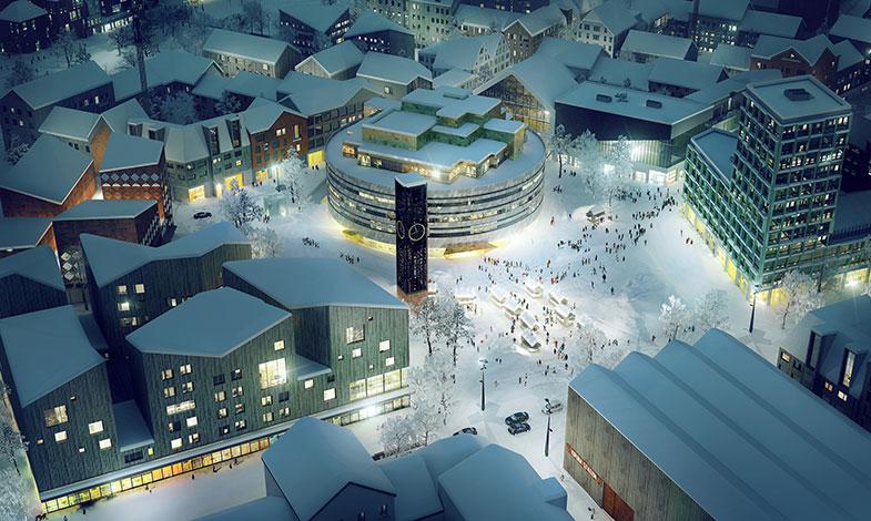 Det nya Kiruna – en hållbar modellstad tar form
