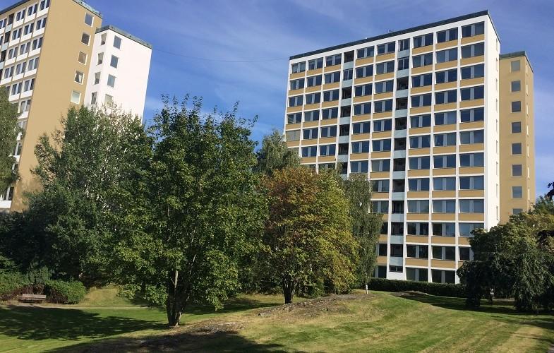 Skandia Fastigheter rustar upp 124 hyresrätter i Danderyd