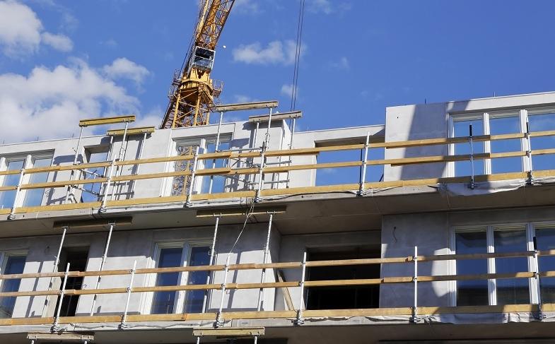 Rejäl ökning av bostadsbyggandet