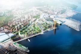 LINK arkitektur designar kontorsfastigheter i Södra Värtan