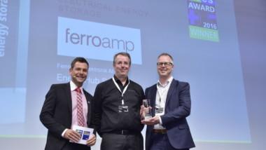 Ferroamp vinnare i ees AWARD 2016