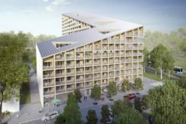 Poseidon bygger nytt flerbostadshus i Kviberg