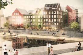 Wästbygg får markanvisning i Norrtälje Hamn