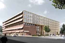 Henning Larsen Architects ritar Uppsalas nya stadshus