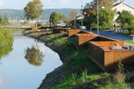 Norconsult vinner arkitekturpris för översvämningsskydd