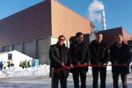 Nytt fjärrvärmeverk invigt i Täby