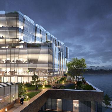 AIX Arkitekter utformar Bonniers kontorshus i Södra Värtan