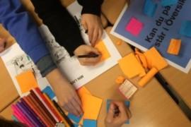 Barnen blir delaktiga i Stockholms stadsutveckling