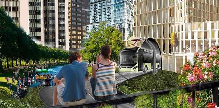 På jakt efter arkitekternas bästa idéer för framtidens resande