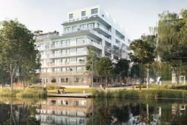 JM Entreprenad uppför 49 bostadsrätter i Norra Djurgårdsstaden