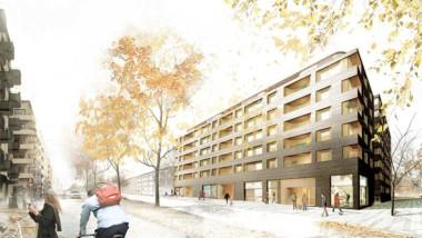 Göteborg får nya hyresrätter i trä