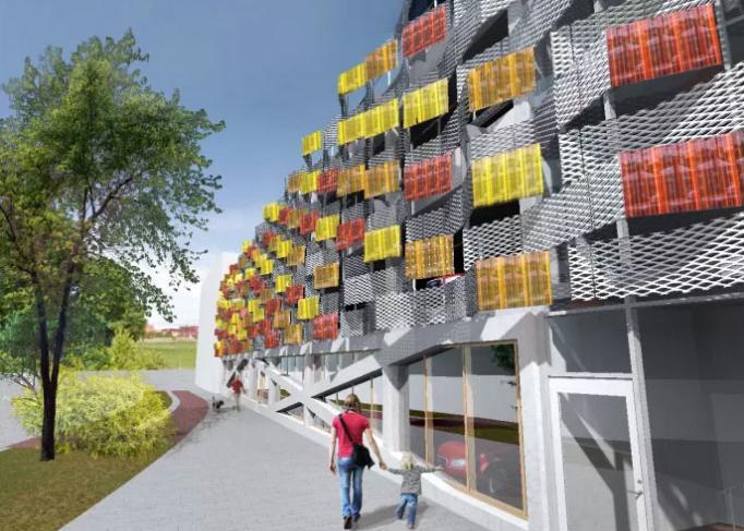 Glacell installerar solcellsfasad i Vallastaden