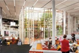 Swecos förslag vann tävlingen om nytt kulturhus i Bergsjön