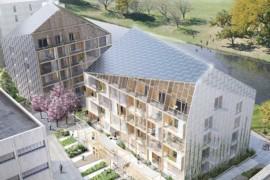 Byggstart för plusenergihus i Norra Djurgårdsstaden