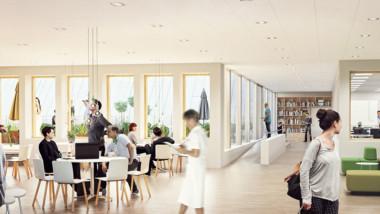 Assemblin installerar i Jönköpings nya vårdbyggnad