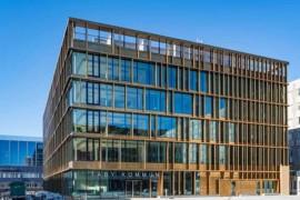 Internationellt arkitekturpris till Täby kommunhus