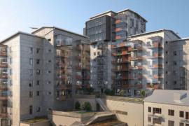 Centralt flerbostadshus blir nytt landmärke i Partille