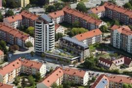 Byggnaderna som är nominerade till Sweden Green Building Awards 2017