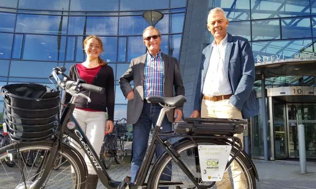 Linköping blir första kommun i Sverige med elcykelpool