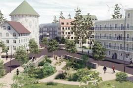 Regeringens förslag på nio nya stadsdelar och städer