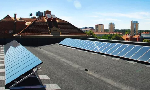 Ökning av solceller med 63 procent under 2016