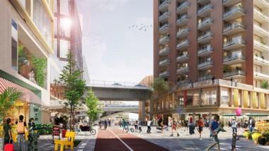 Stockholms nya stadsdel vann Planpriset