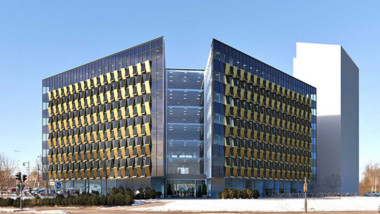 Toalettlösning med regnvatten i Castellums nya kontorsfastighet