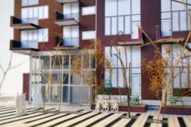 Här byggs nya bostäder med fokus på hållbart resande