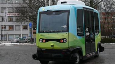 Premiär för självkörande bussar i Stockholm