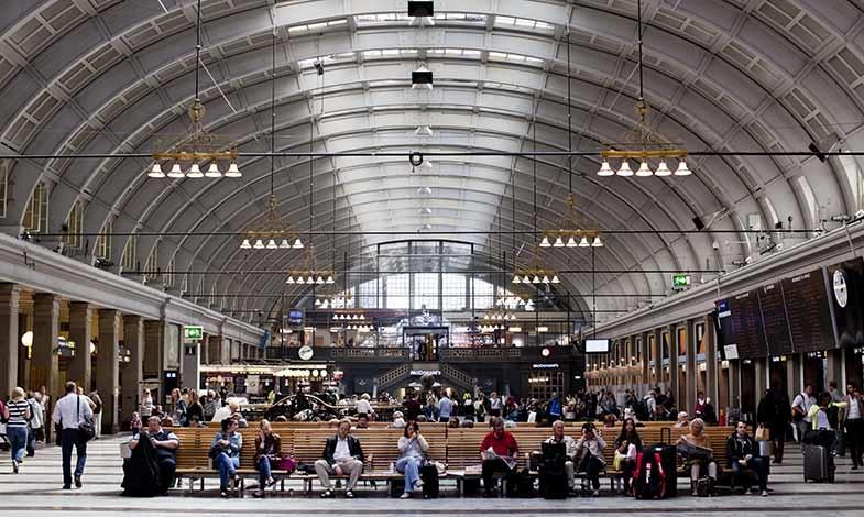 Stockholms centralstation miljöcertifieras