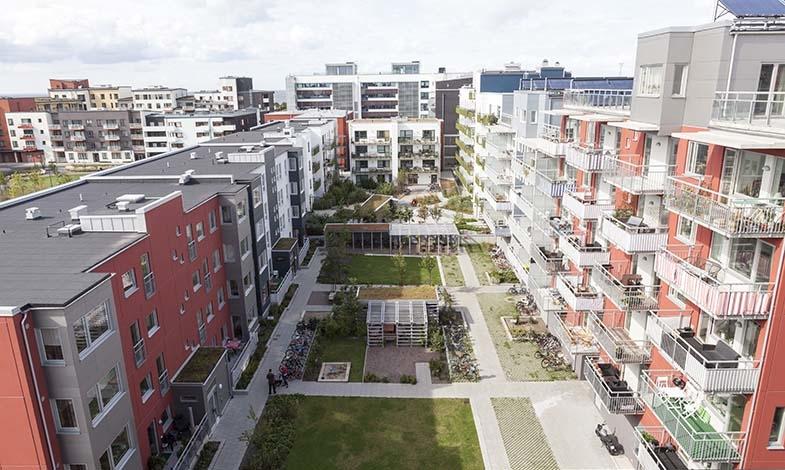 Bostadsområden med färre parkeringsplatser ökar hållbart resande