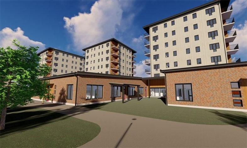 Örebro får nya trähöghus