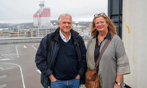 Christina Östergren och Anders Olson